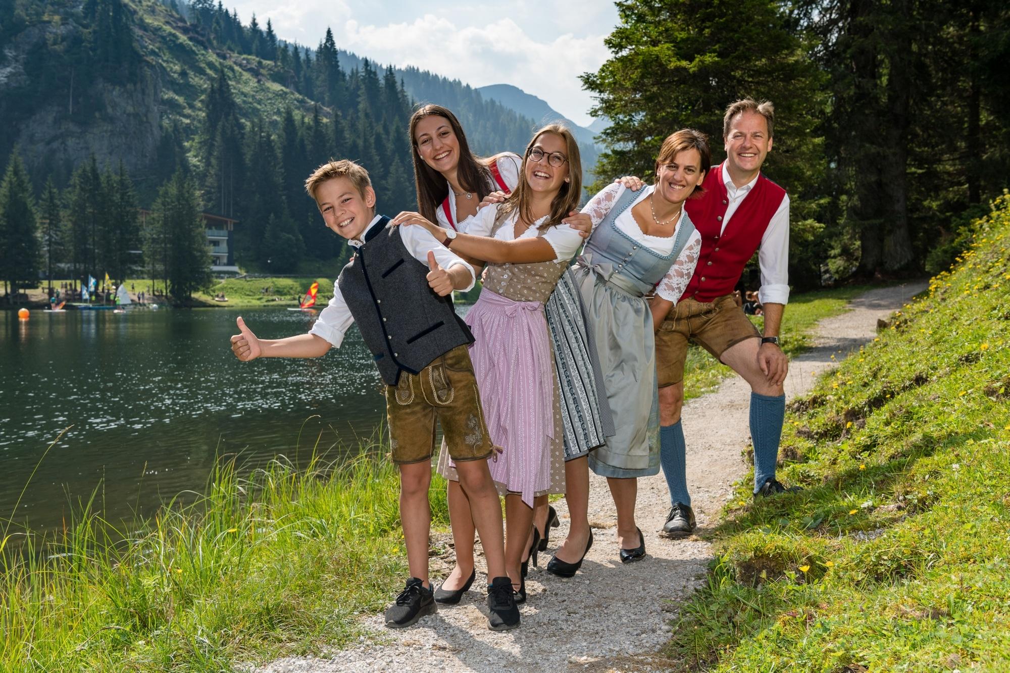 Familie Walchhofer vom Hotel Zauchenseehof