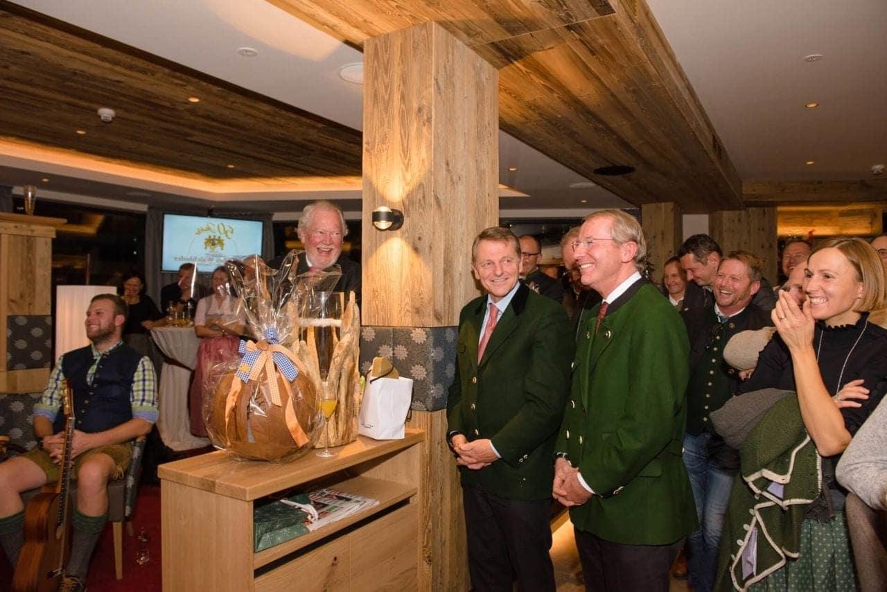 50-Jahres-Feier im Hotel Zauchenseehof