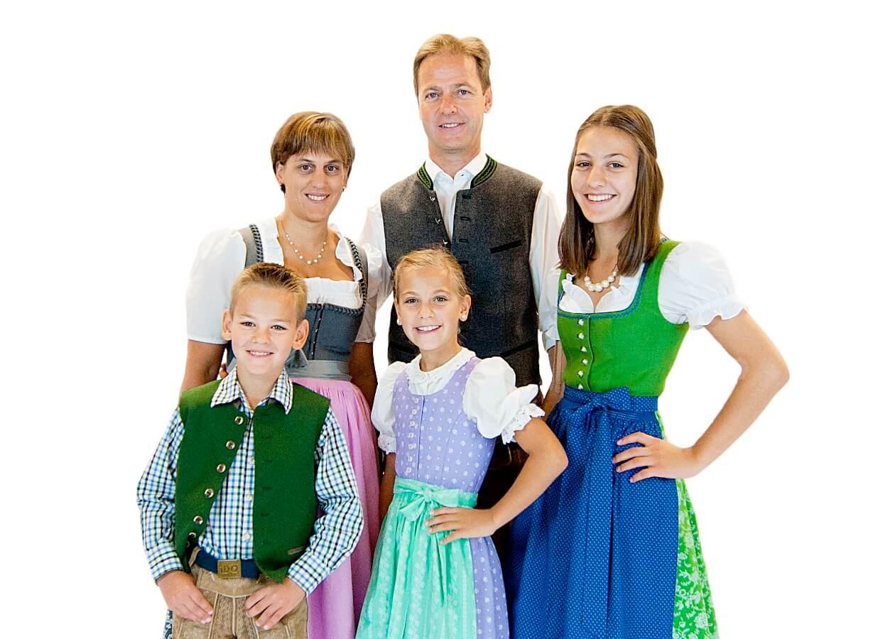 Familie Rupert Walchhofer vom Hotel Zauchenseehof