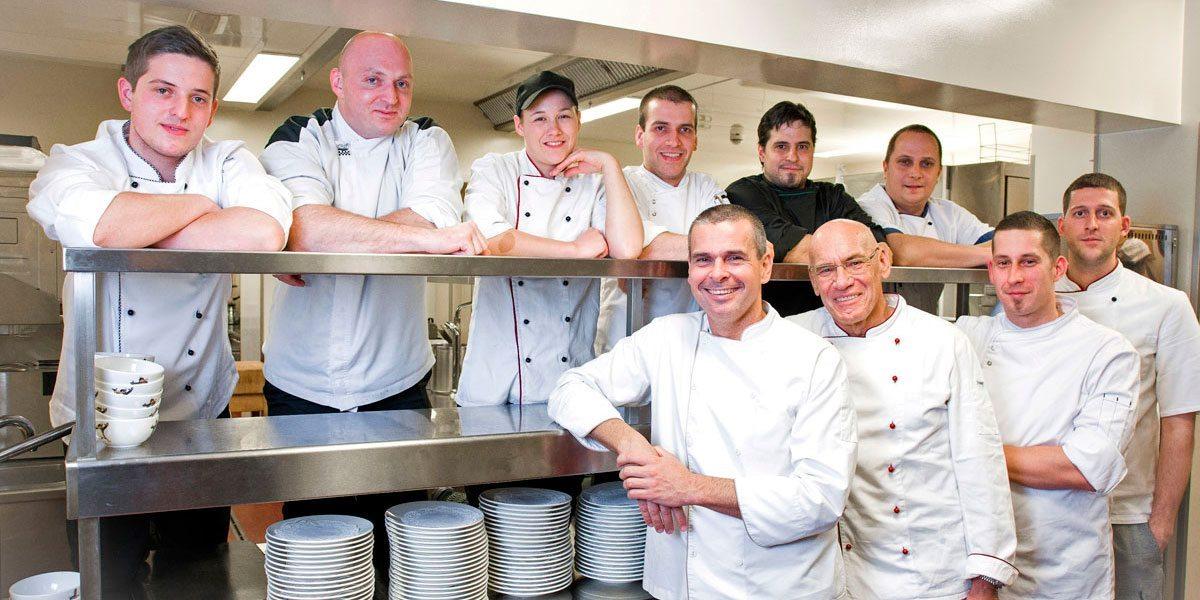 Küchen-Team im Hotel Zauchenseehof