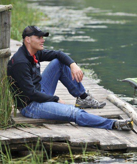 Weltmeister Michael Walchhofer am Zauchensee