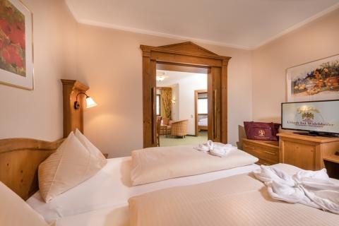 3-Raum-Familienappartement im Hotel Zauchenseehof