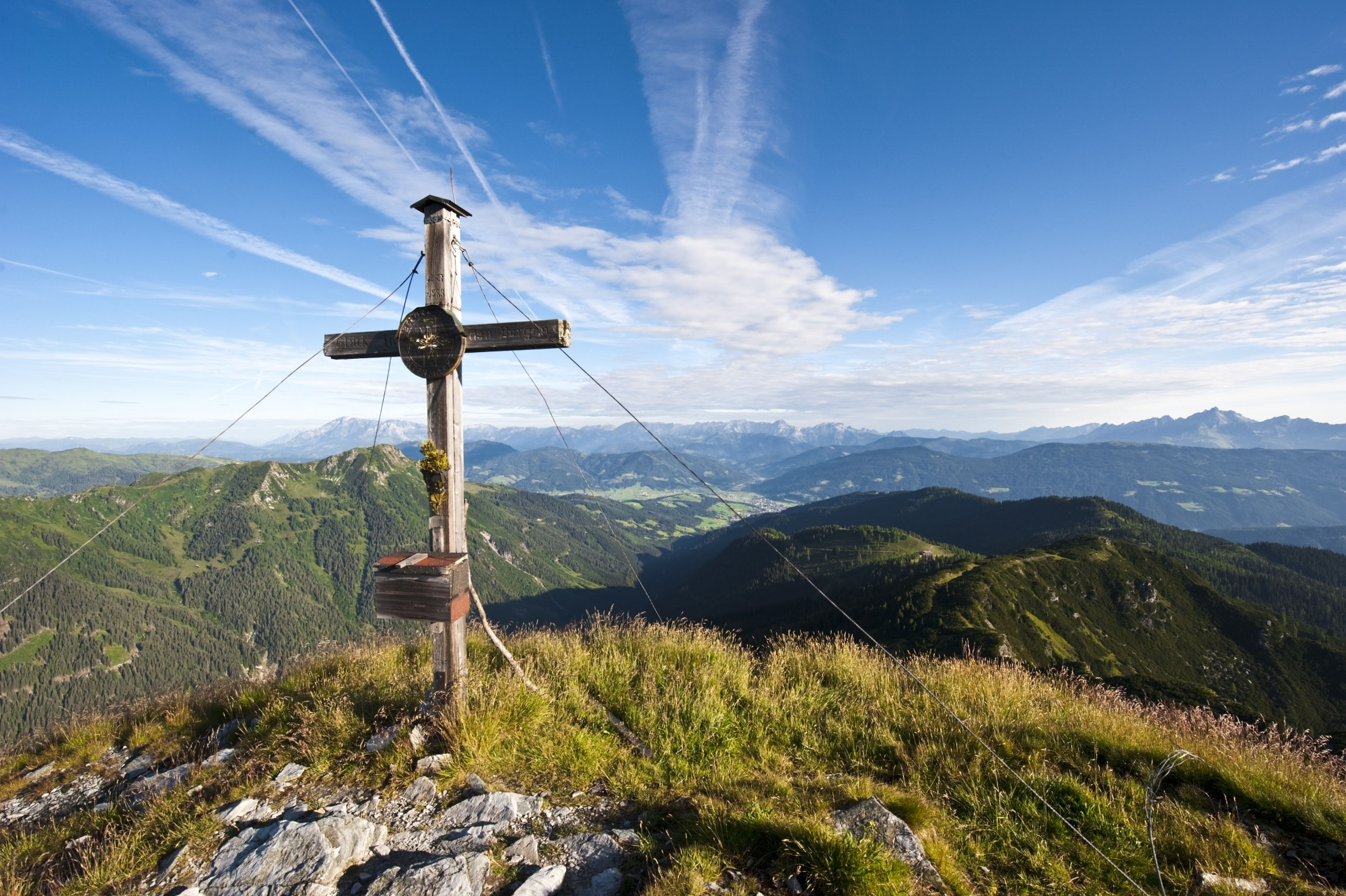 Gipfelkreuz in Altenmarkt Zauchensee