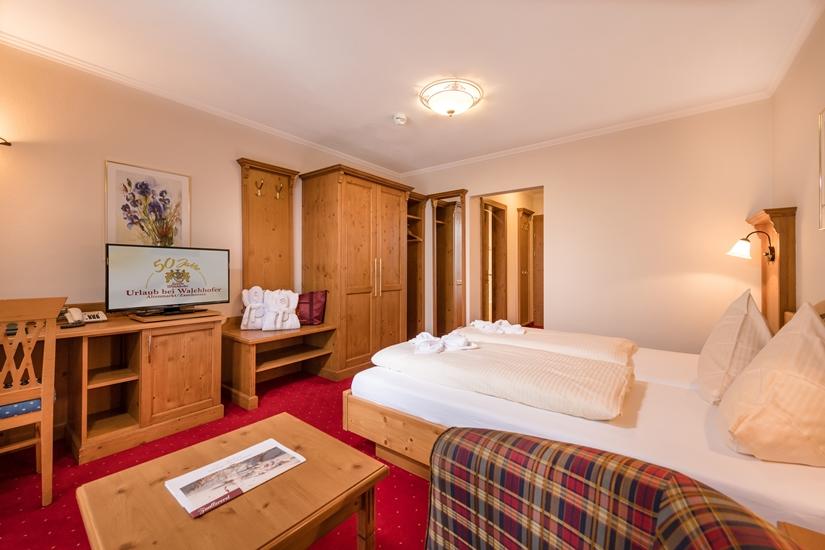 Komfort-Doppelzimmer im Hotel Zauchenseehof