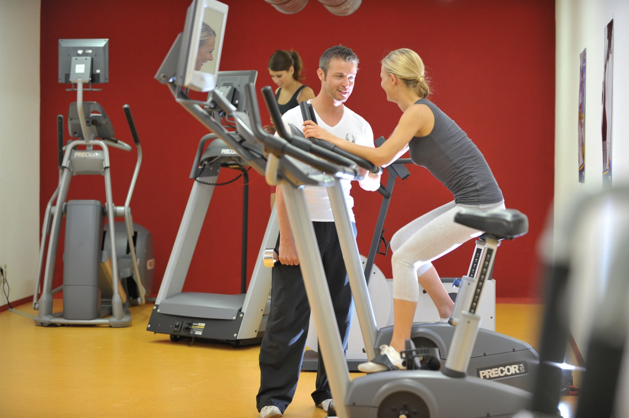 Fitness im Hotel Zauchenseehof