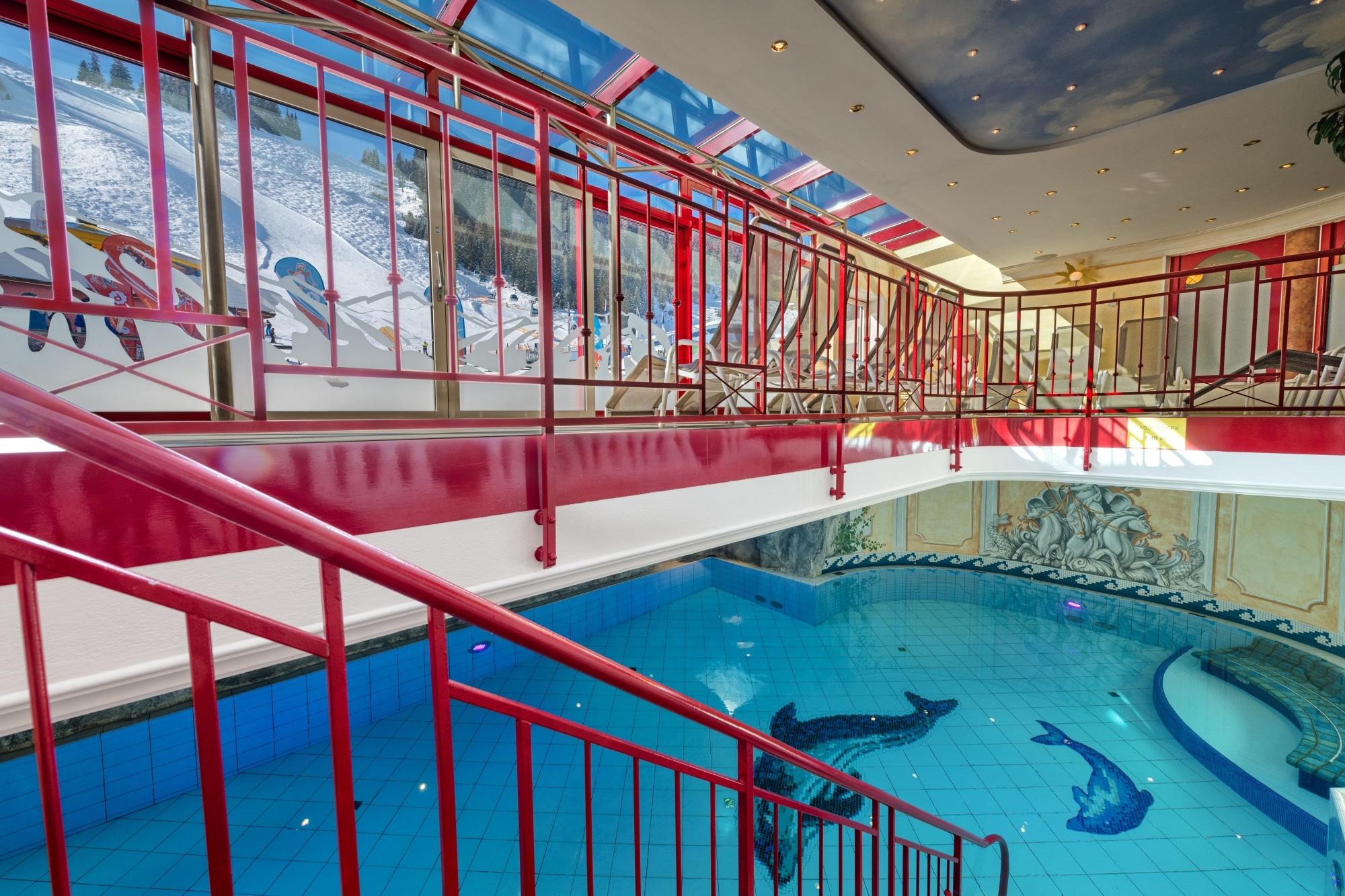 Wellnessbereich im Familienhotel Zauchenseehof