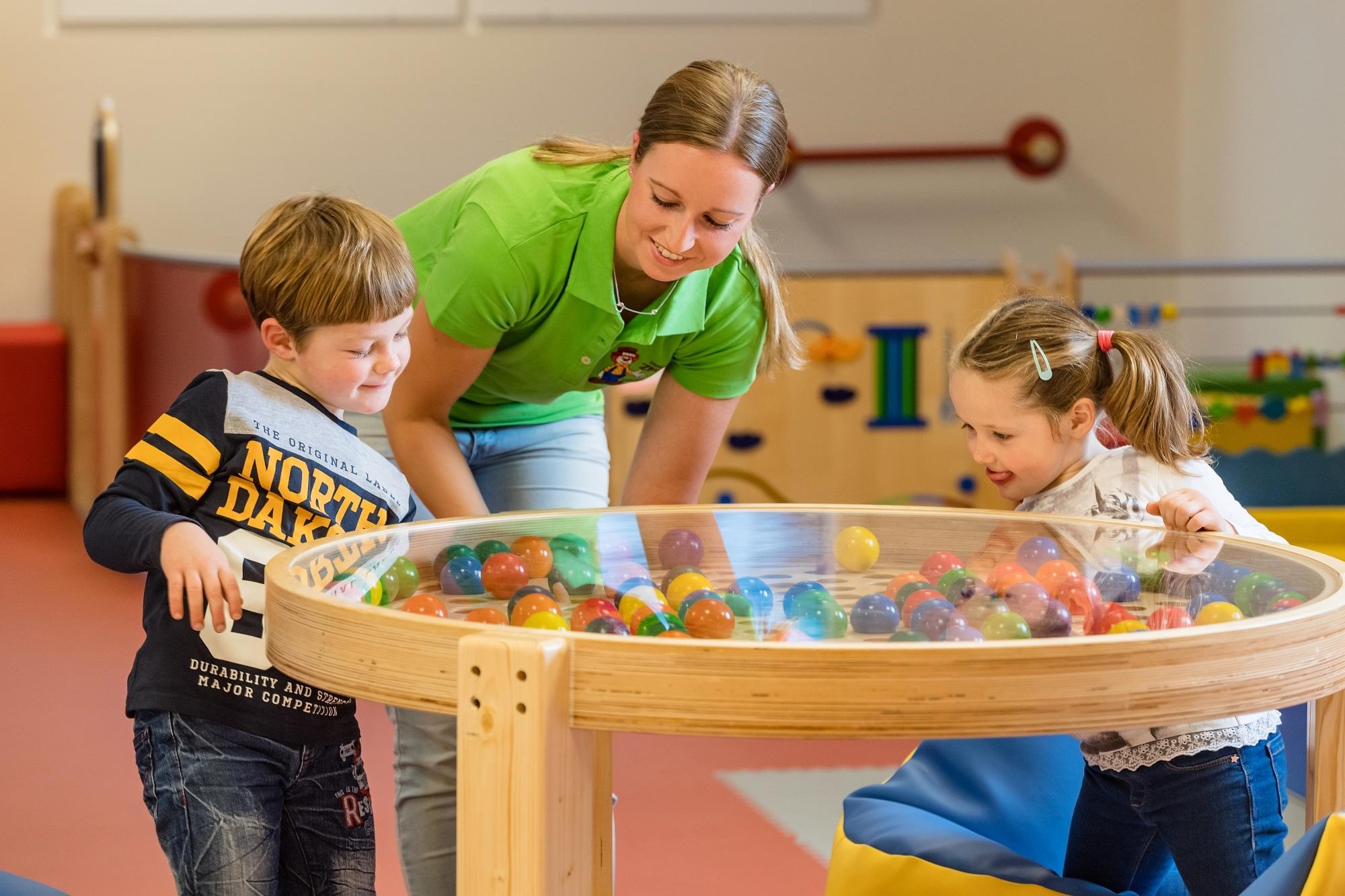 Kinderbetreuung im Familienhotel Zauchenseehof