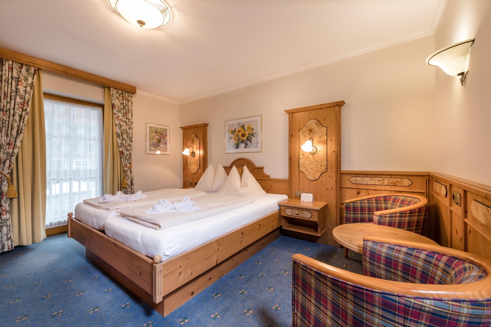 Doppelzimmer im Hotel Zauchenseehof