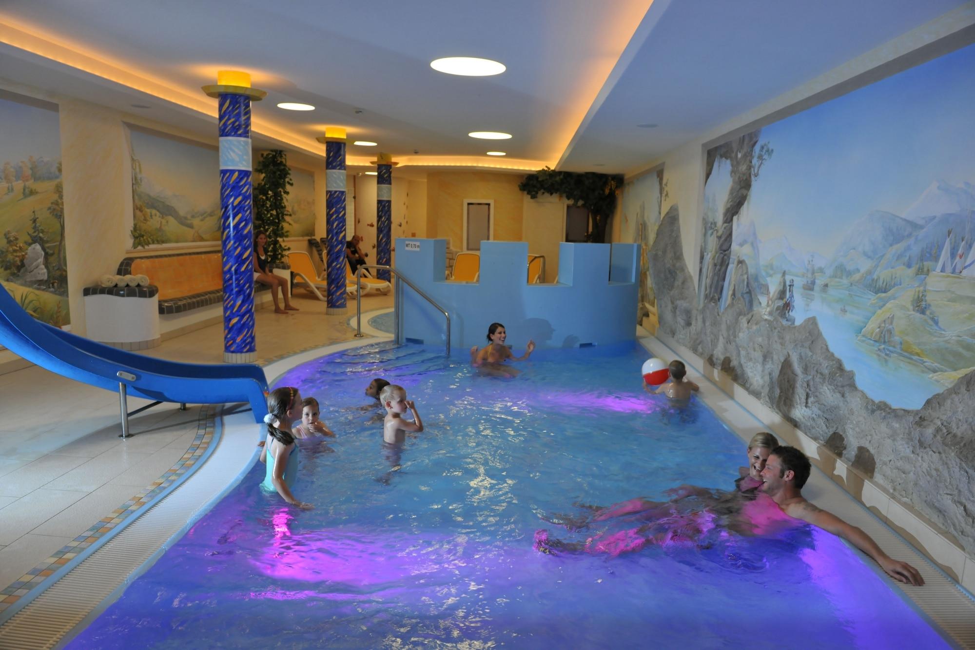 Kinderwellnessbereich im Familienhotel Zauchenseehof