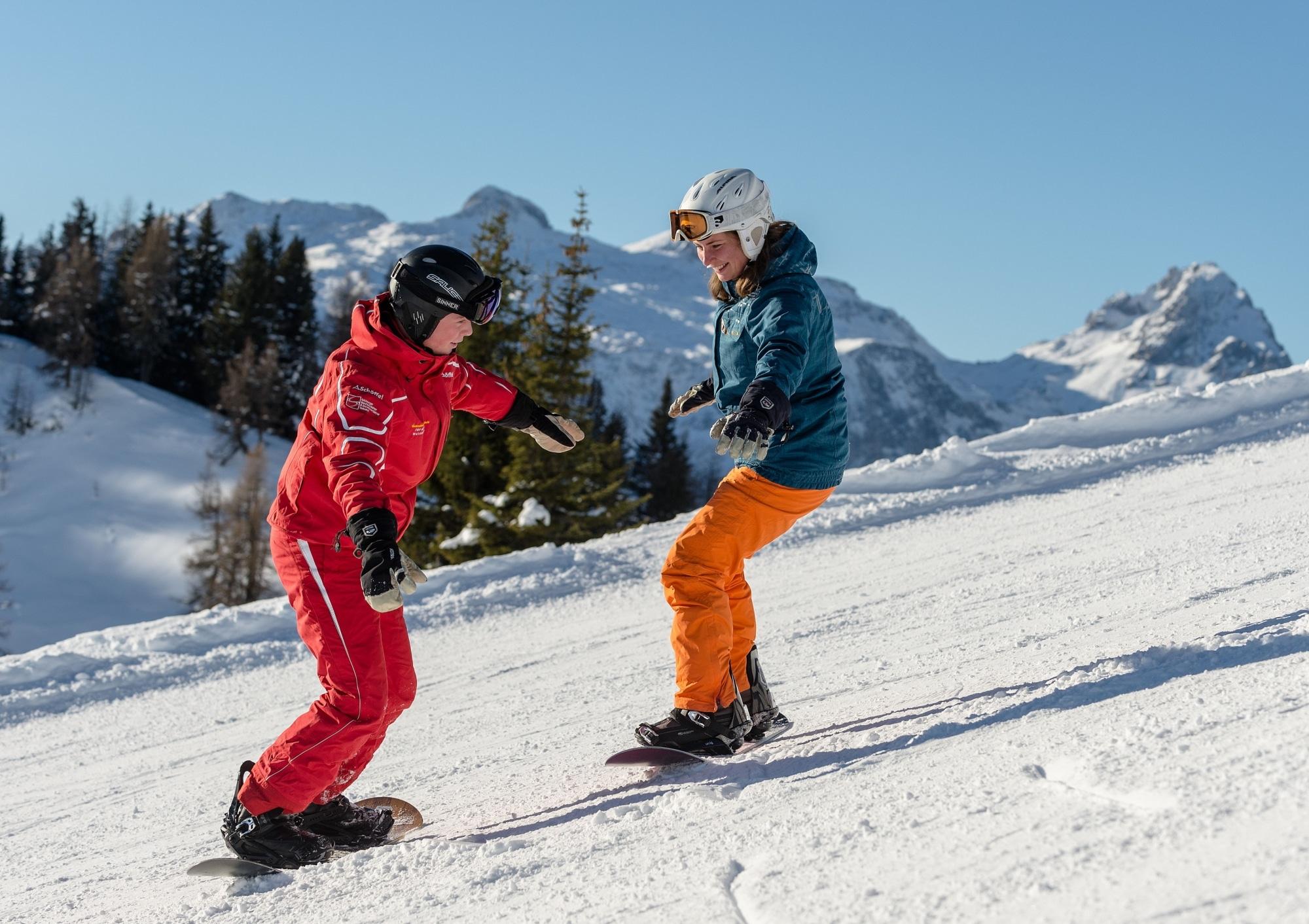 Snowboardkurs Anfänger in Zauchensee
