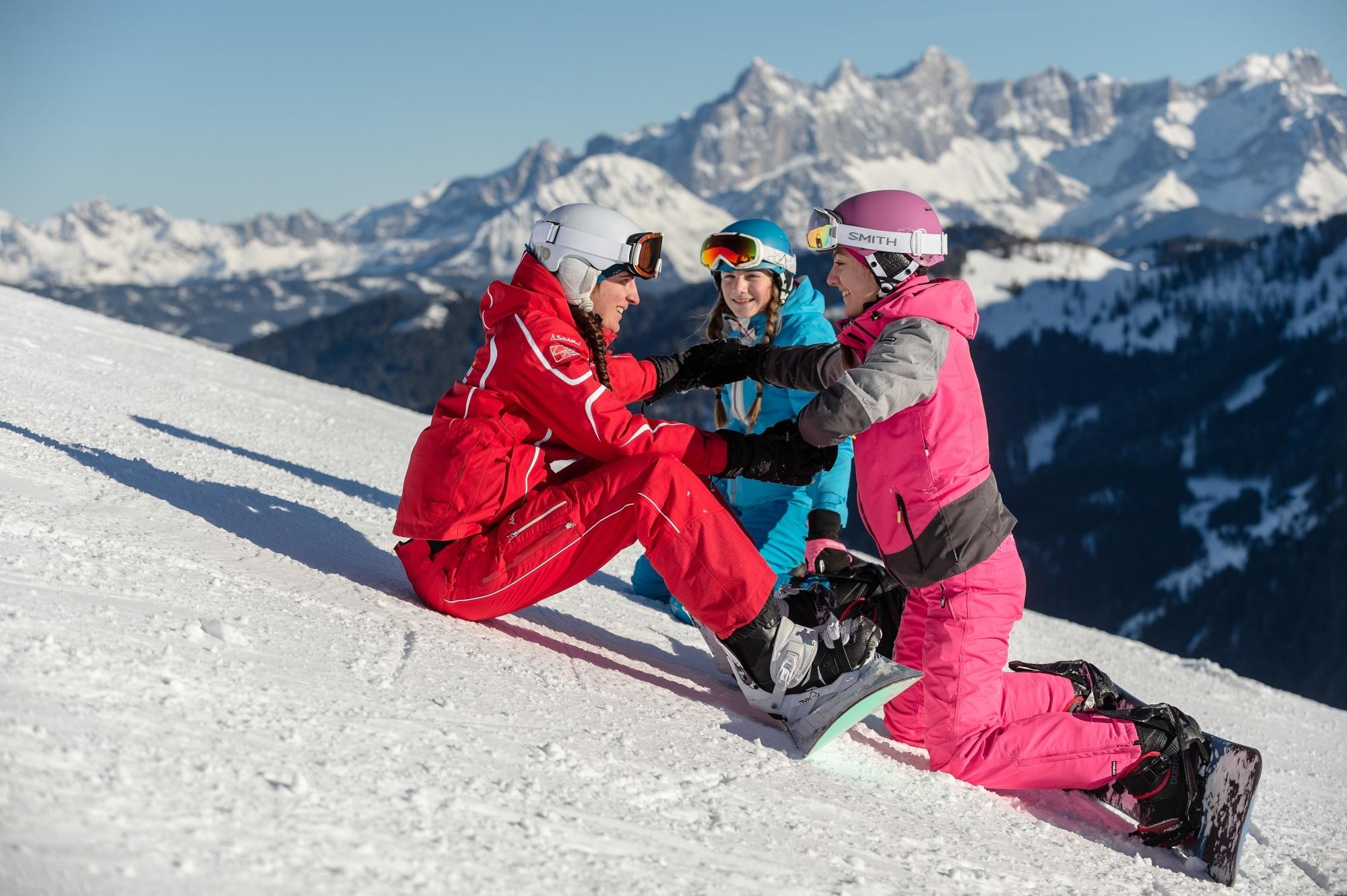 Snowboard-Kurs in Zauchensee