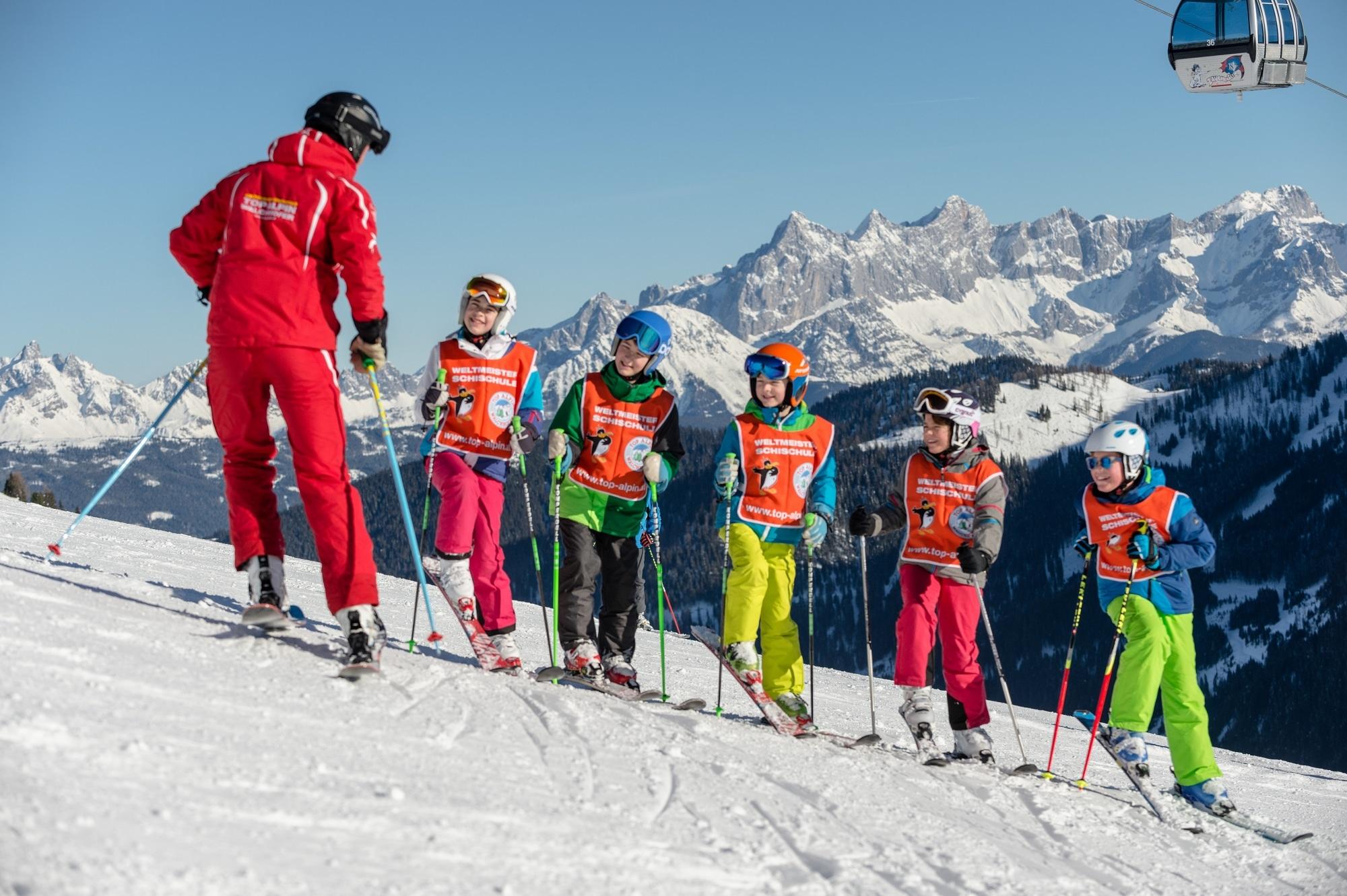 Kinder-Skikurs in Zauchensee