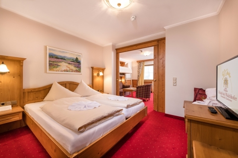 Familien-Suite im Hotel Zauchenseehof