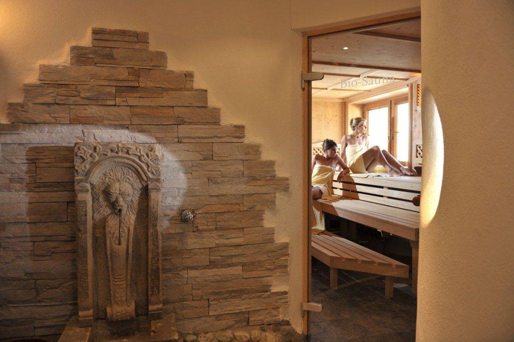 Sauna im Hotel Zauchenseehof