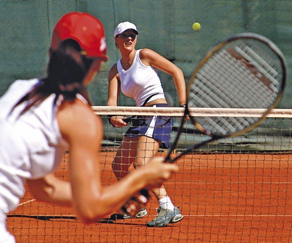 Tennisspielen in Zauchensee