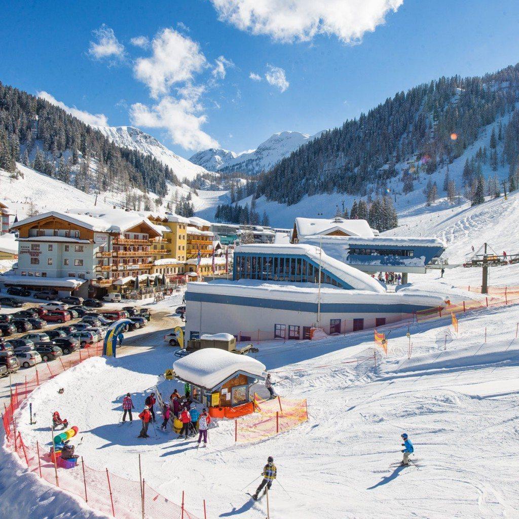 Talstation Skigebiet Zauchensee