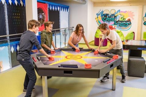 Jugend-Spielewelt im Familotel Zauchenseehof