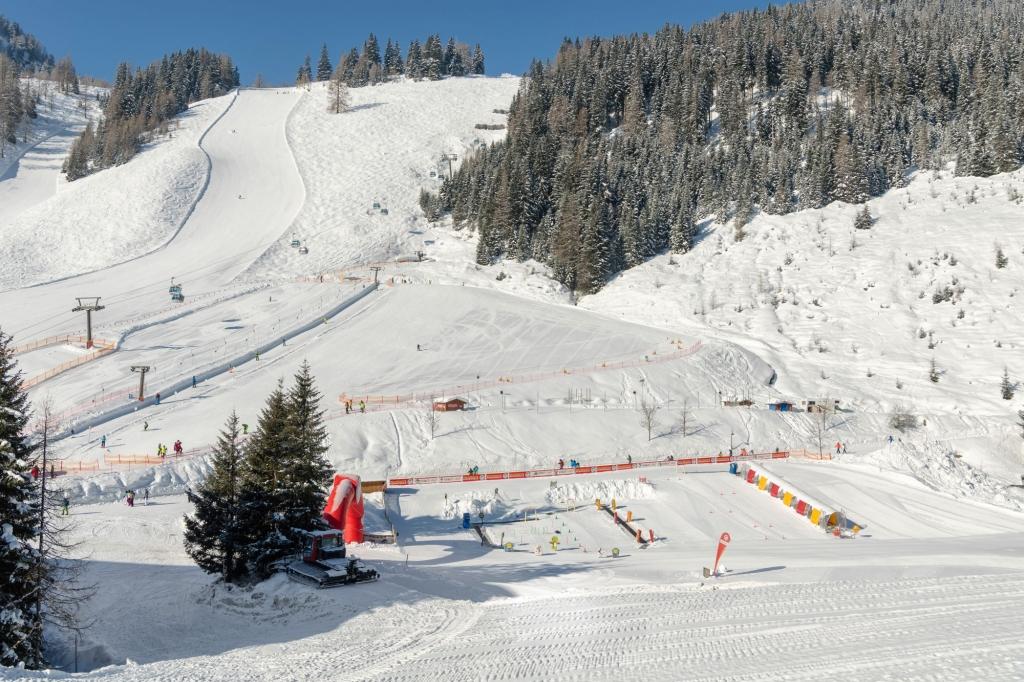 Skischulen-Übungsgelände in Altenmarkt Zauchensee