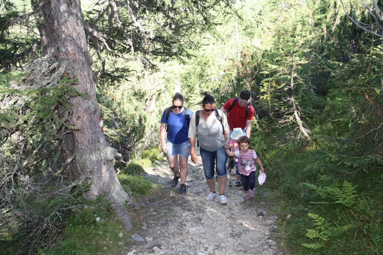 Familienwanderung Tauernkarleitenalm in Salzburg